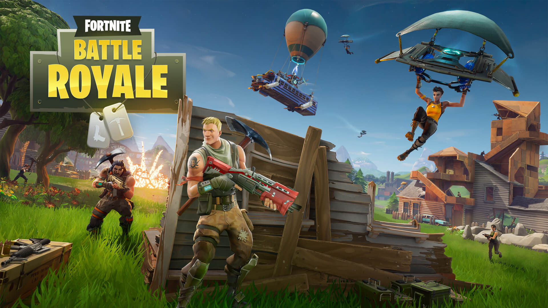 Fortnite Battle Royale update will add silenced SMG and buff the assault rifle