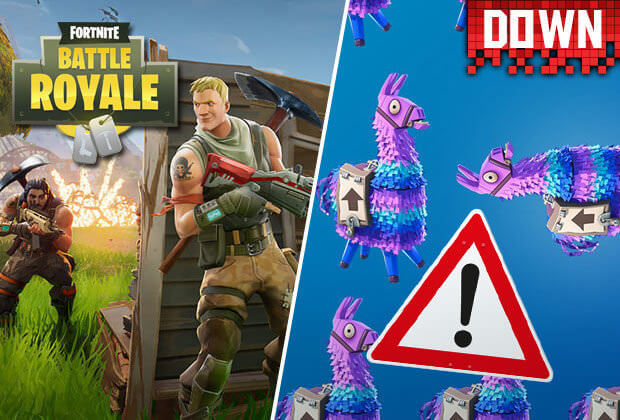 Fortnite hit by server outage