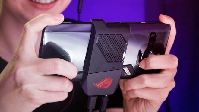 Asus 'phone with a fan' among weird gadgets at Computex