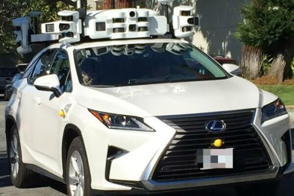 Lexus Self Driving Car